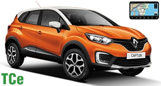 Renault Captur TCe + NAVI CFMR