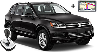 VW Touareg + GPS FFAR