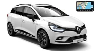 Renault Clio IV универсал + NAVI
