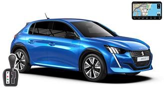Peugeot 208 + NAVI