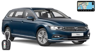 VW Passat универсал + GPS