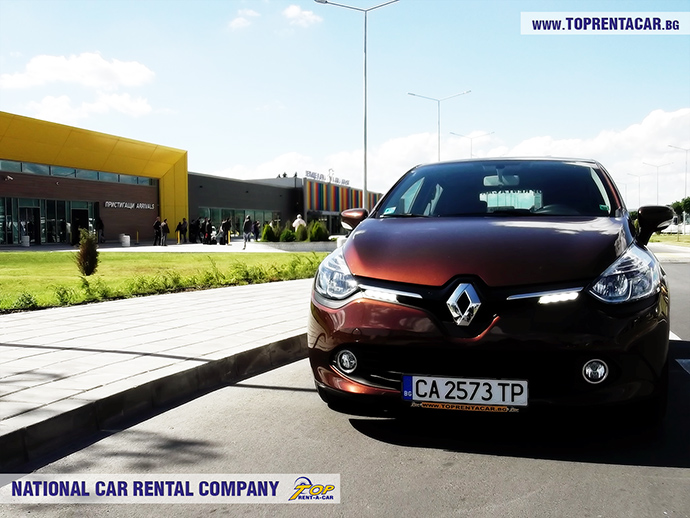 Renault Clio 4 от Top Rent A Car в аэропорту Варны