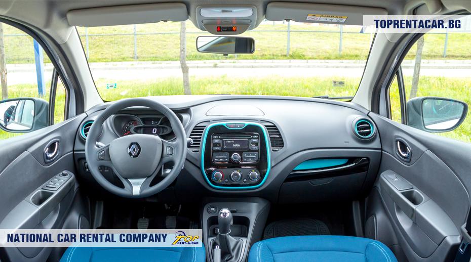 Renault Captur - вид изнутри