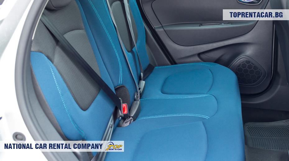 Renault Captur - задние сиденья