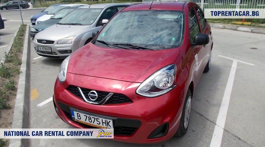 Nissan Micra - вид спереди