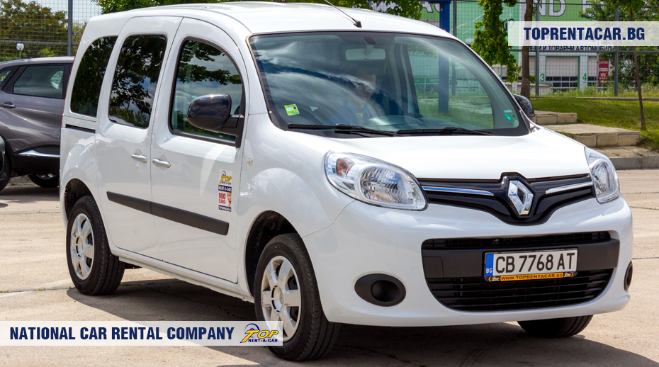 Renault Kangoo - вид спреди