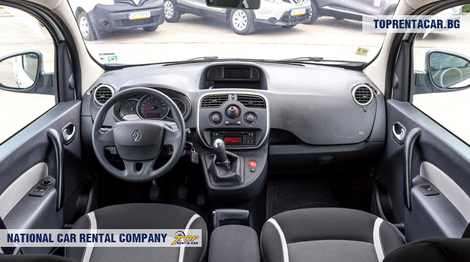 Renault Kangoo - вид изнутри