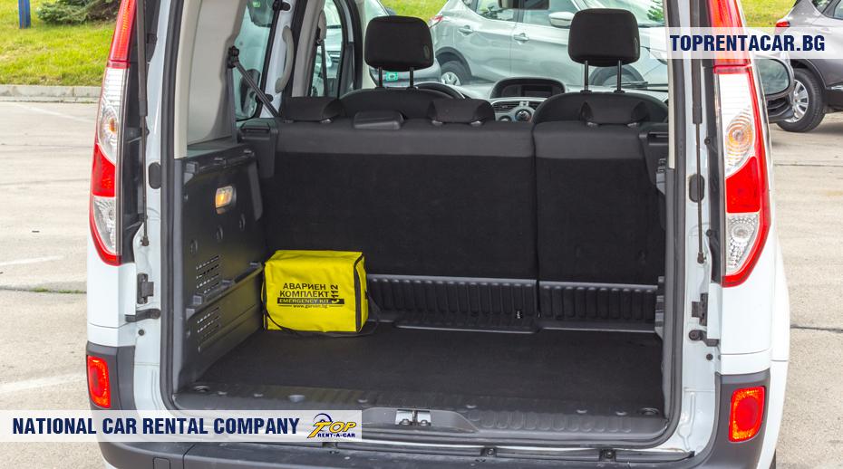 Renault Kangoo - багажник