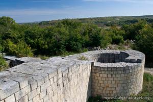 Древняя башня в В. Преславе