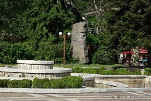 Скульптура в Трояне