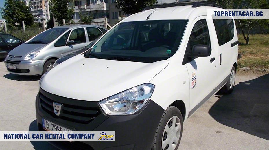 Dacia Dokker - вид спереди