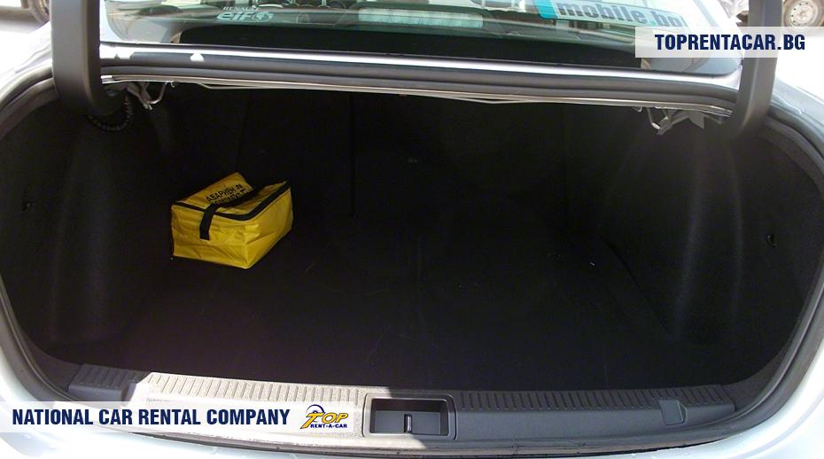 Renault Fluence с АКПП - багажник
