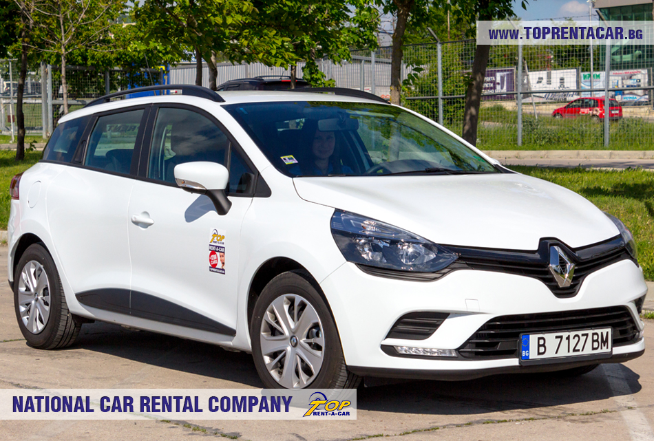 Renault Clio 4 универсал вперед