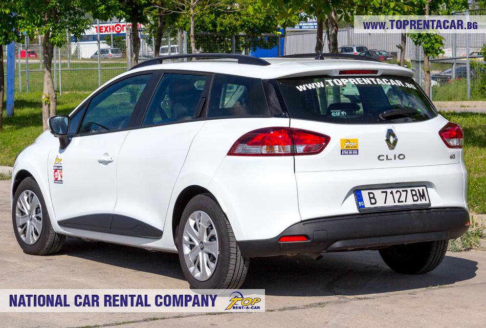 Renault Clio 4 универсал позади