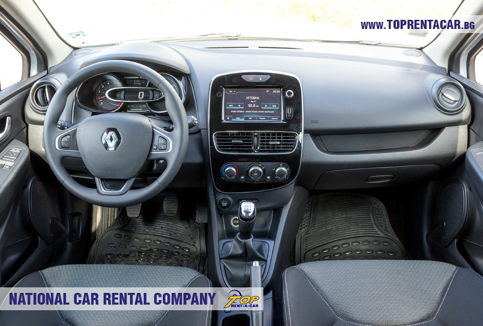Renault Clio 4 универсал - внутри