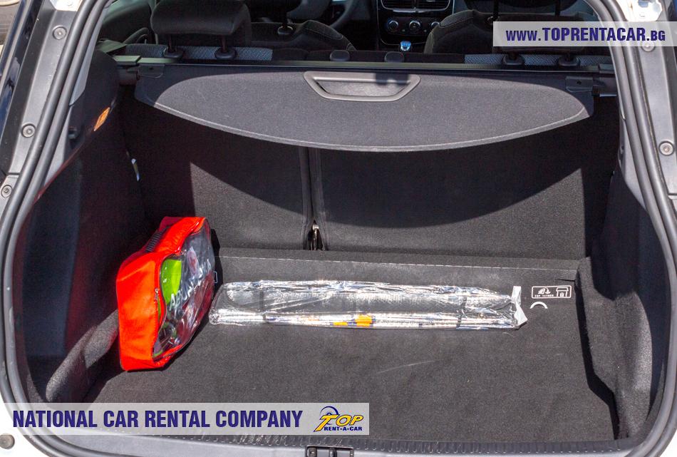 Renault Clio 4 универсал багажник