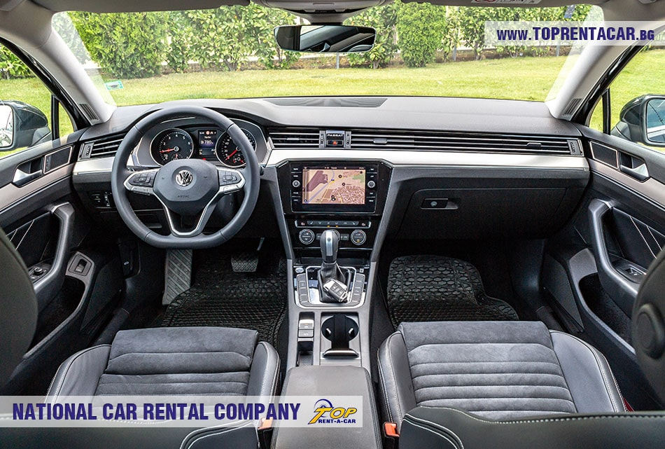 VW Passat sedan интериор