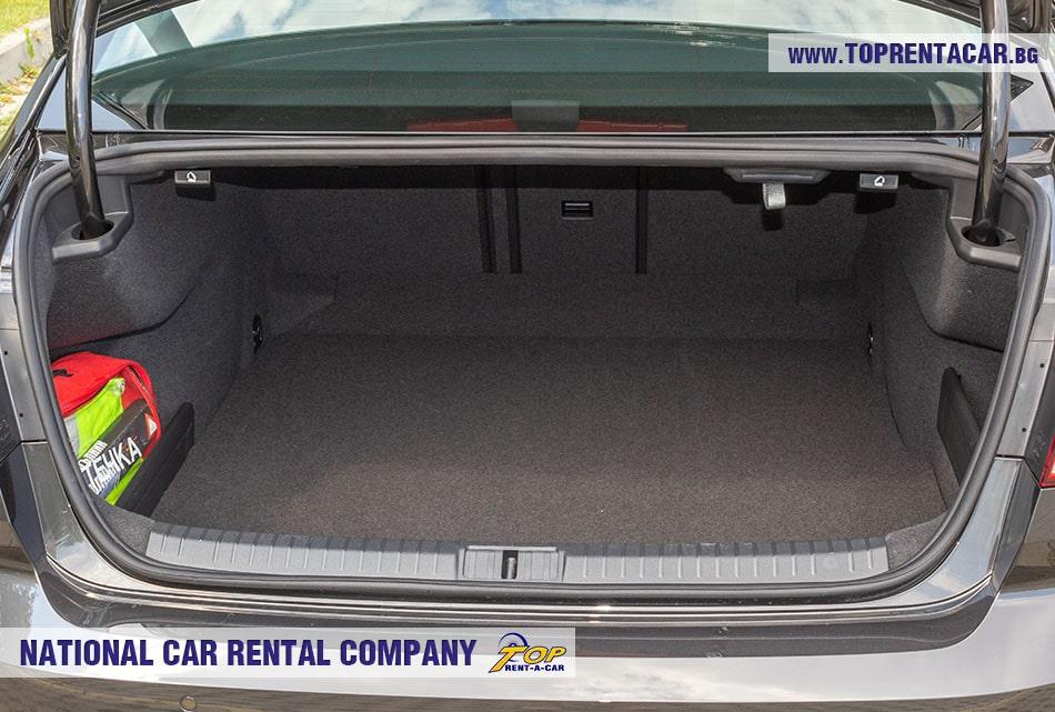 VW Passat 2020 багажник