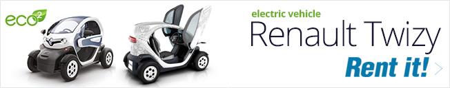 Twizy электрический автомобиль