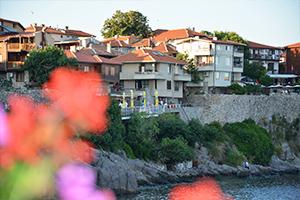 Живописный Старый город Несебр