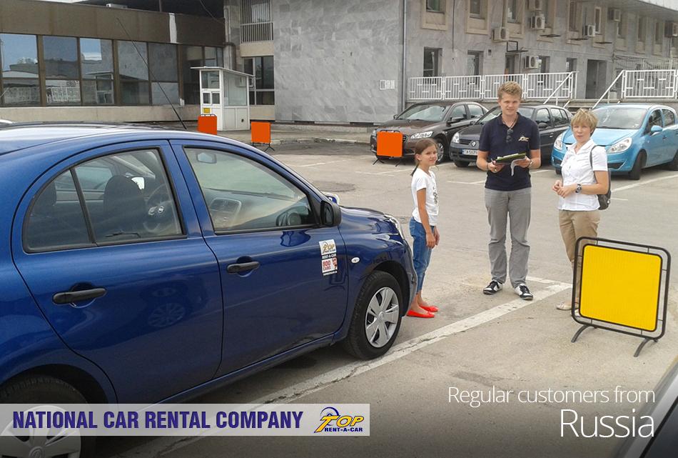 Российские клиенты Top Rent A Car