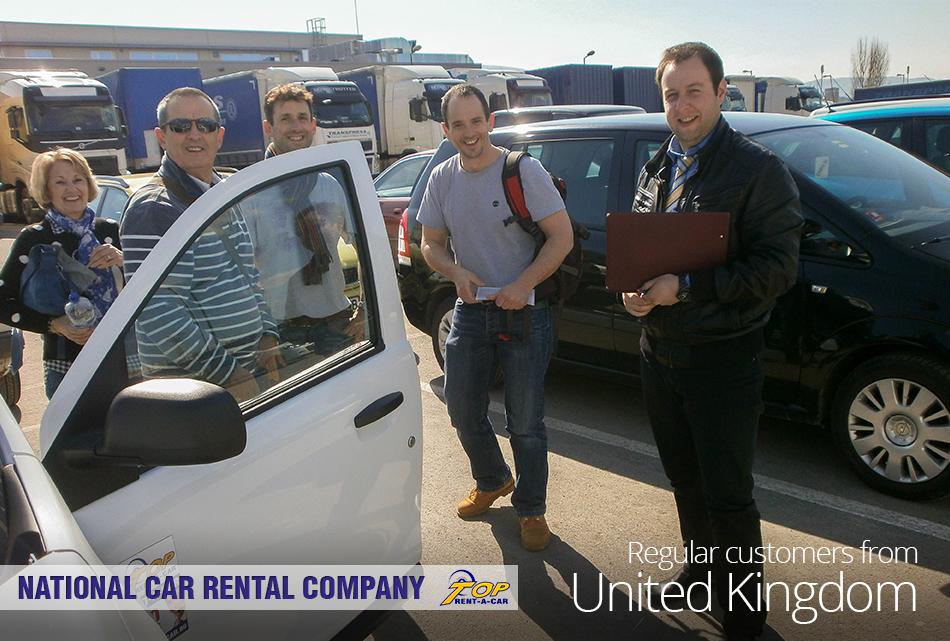 Британские клиенты Top Rent A Car