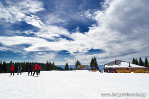 Лыжники в Пампорово