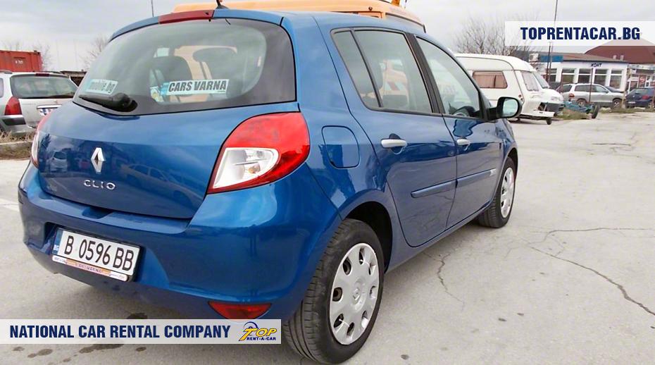 Renault Clio III - вид сзади