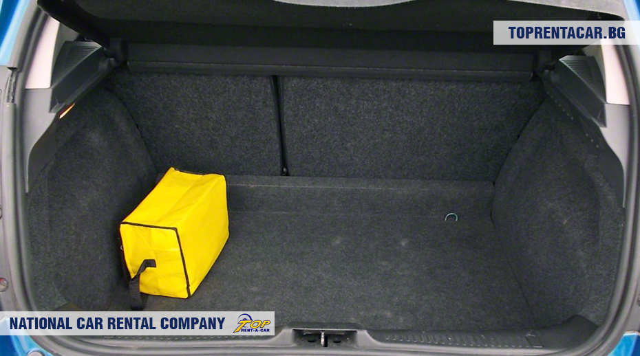 Renault Clio III - багажник
