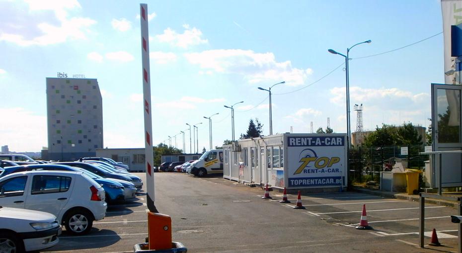 Парковка в Аэропорту Софии