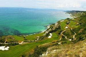 Thracian Cliffs Golf Course  к северу от г. Каварна