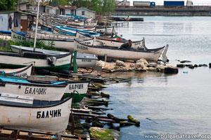Рыбацкие лодки в Балчик