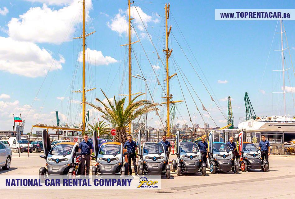 Электромобиль Renault Twizy напрокат