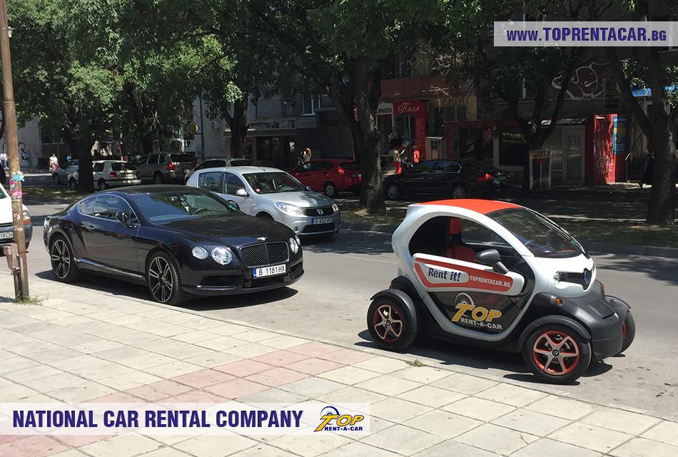 электромобиль на прокат Top Rent Car