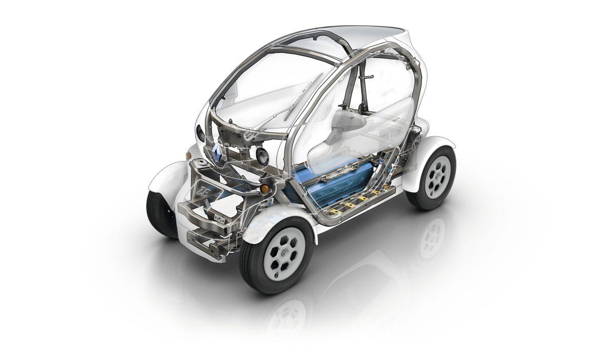 Renault Twizy шасси