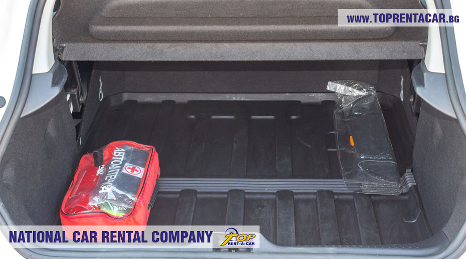 Renault Clio IV Cargo - багажник