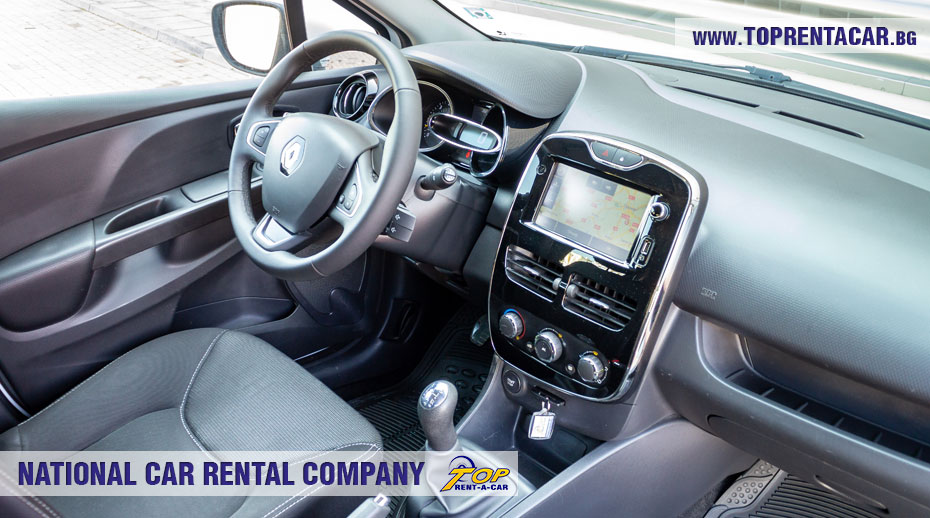 Renault Clio IV Cargo - интериор