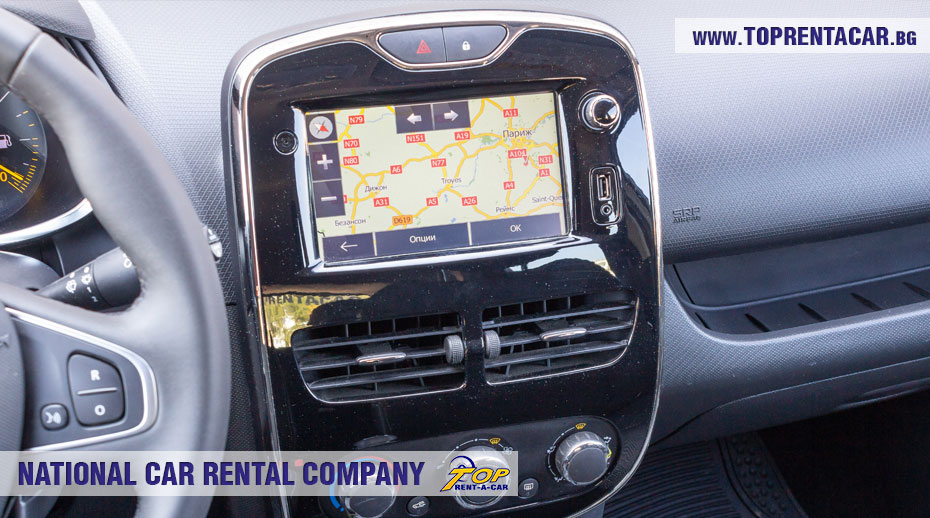 Renault Clio IV Cargo - GPS
