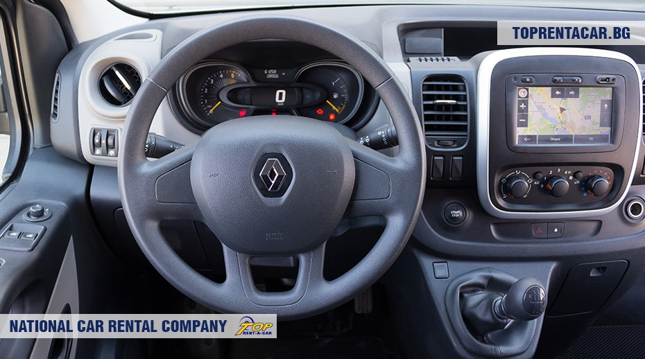 Renault Trafic - вид изнутри 2