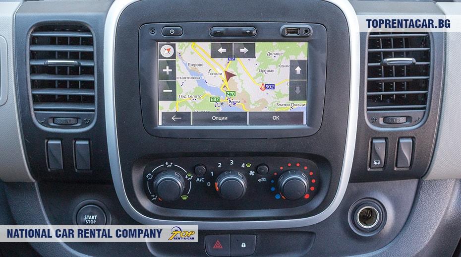 Renault Trafic - вид изнутри 3