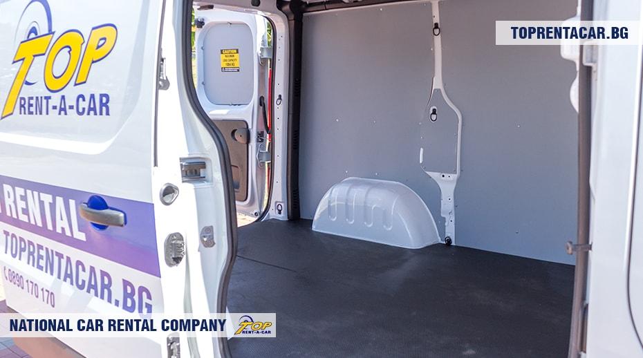 Renault Trafic - грузовой отсек 2