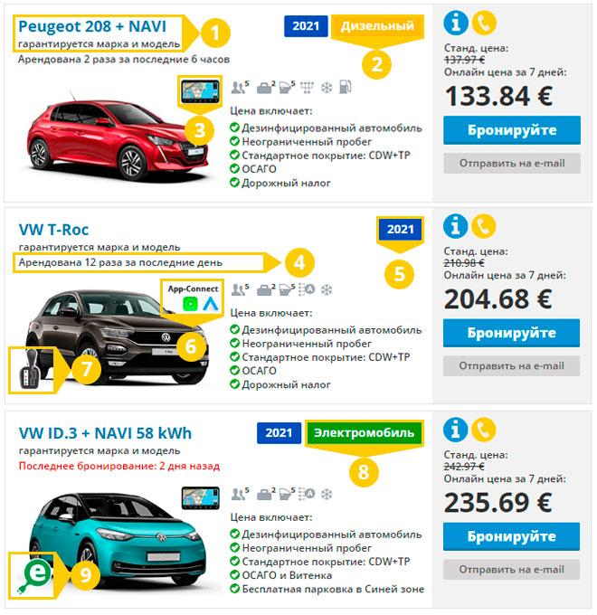 Обещание Top Rent A Car