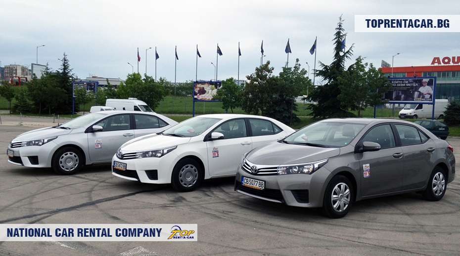 Toyota Corolla от Top Rent A Car