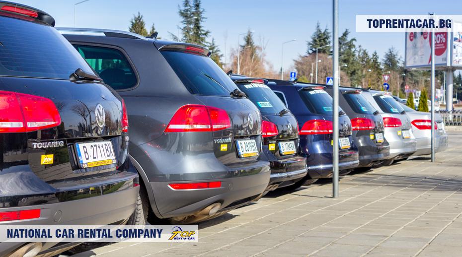 VW Touareg от Top Rent A Car