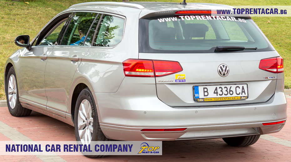 VW Passat комби от Top Rent A Car