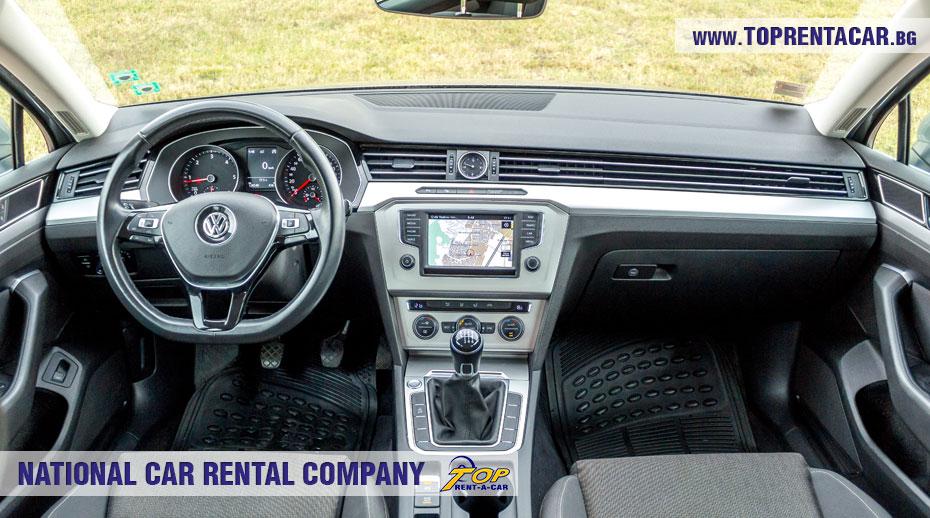 VW Passat универсал - багажник