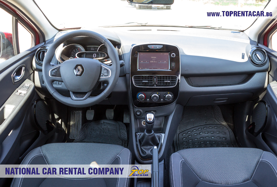 Clio IV TCe от Top Rent A Car