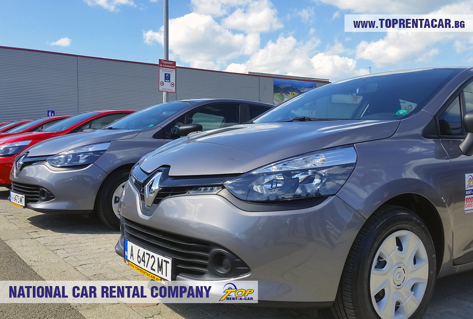 Renault Clio IV TCe от Top Rent A Car