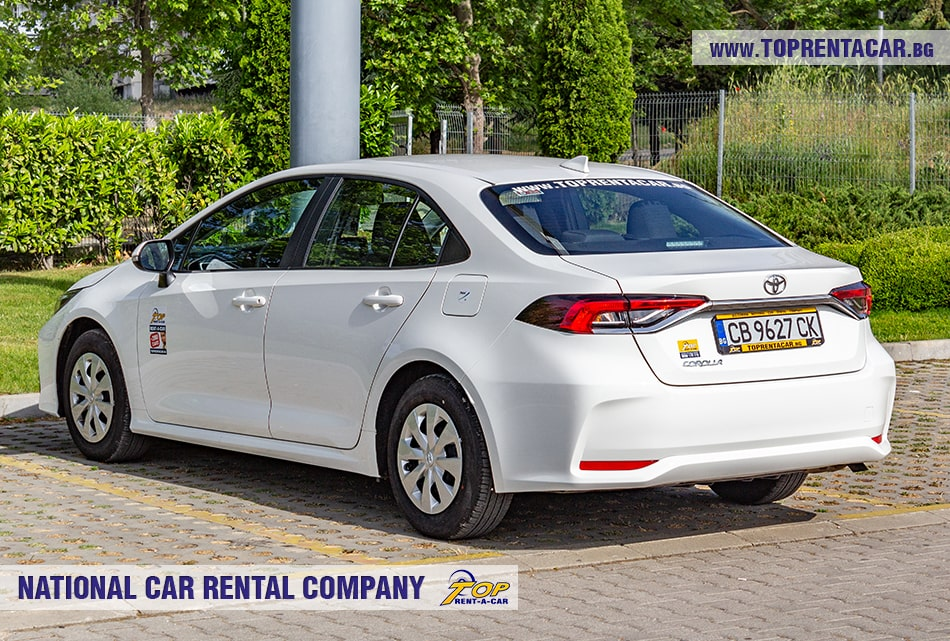 Аренда Toyota Corolla от Top Rent A Car