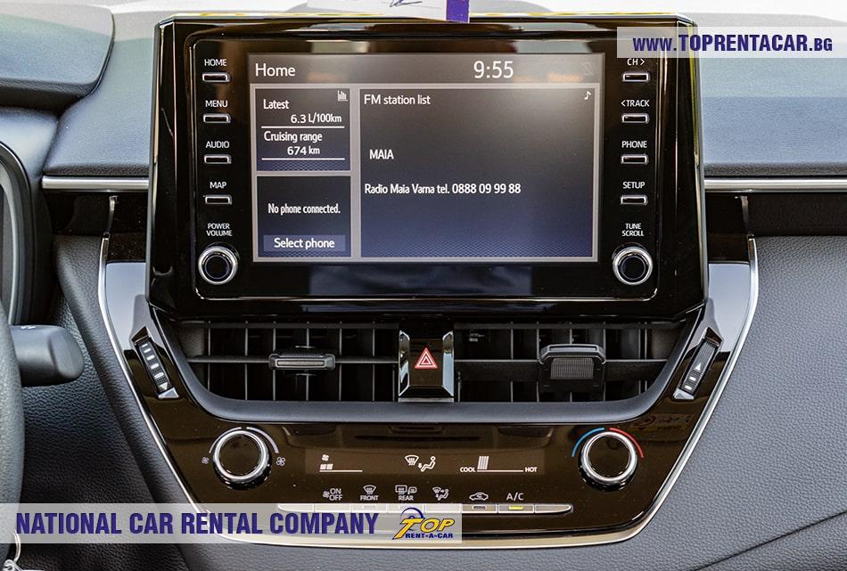 Toyota Corolla мультимедиа